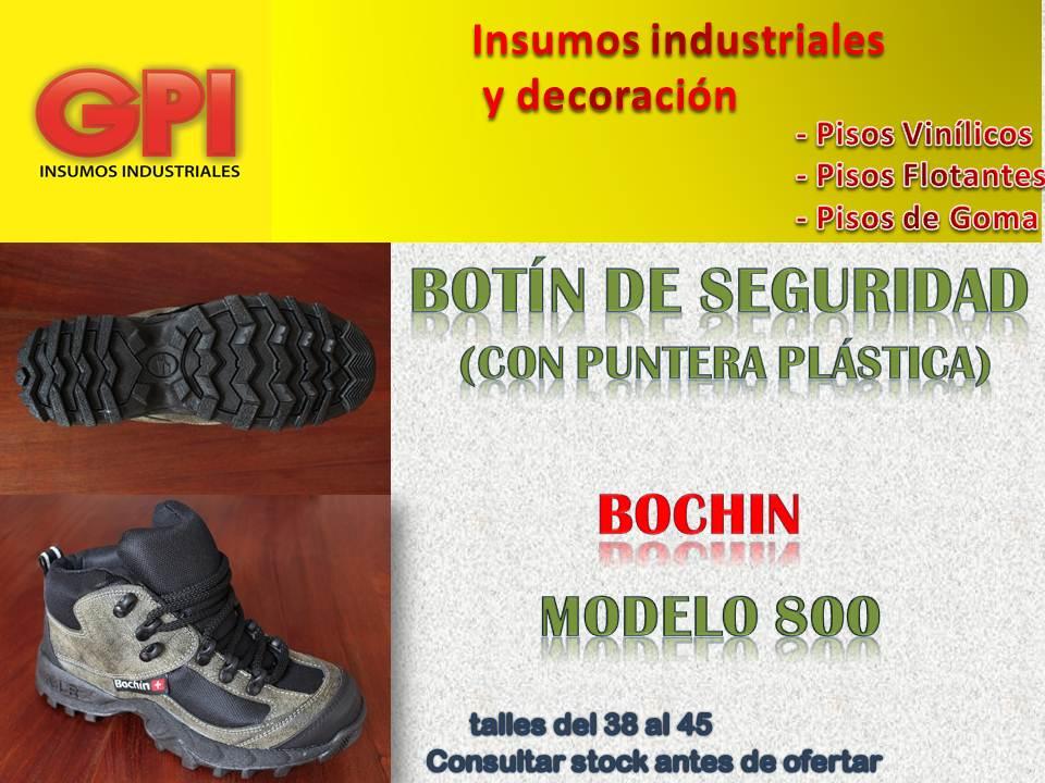 154c5bac28 Botita De Seguridad Bochin Trabajo Calzado Trekking | G.P.I.